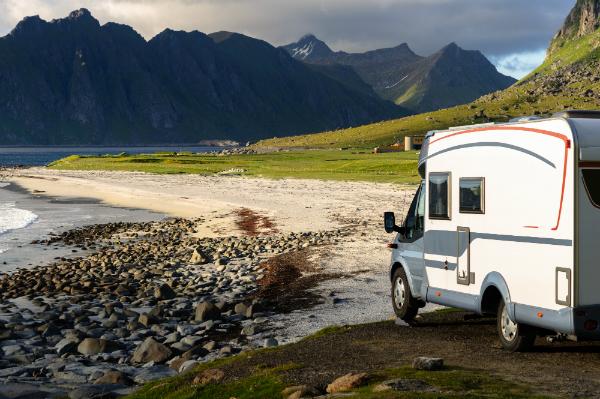 Campen in Norwegen