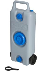Aquamobil mit Ziehgriff und Bereifung