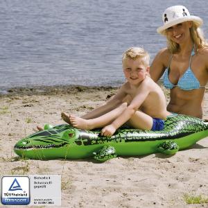 Reittier Krokodil