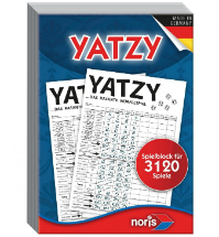 noris Spiel Yatzy Wuerfelspiel