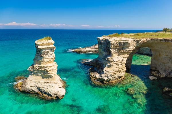 Die Küste von Apulien