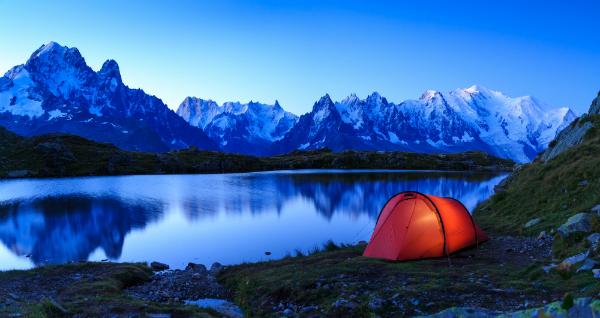 Camping am Mont Blanc