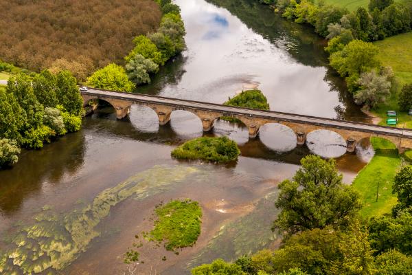 Dordogne - gut geeignet für ausgiebige Kanutouren