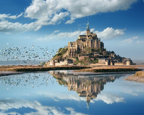 Der Le Mont Saint Michel