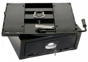 Drehkonsole mit Safe für VW-T4 ab BJ 2/96