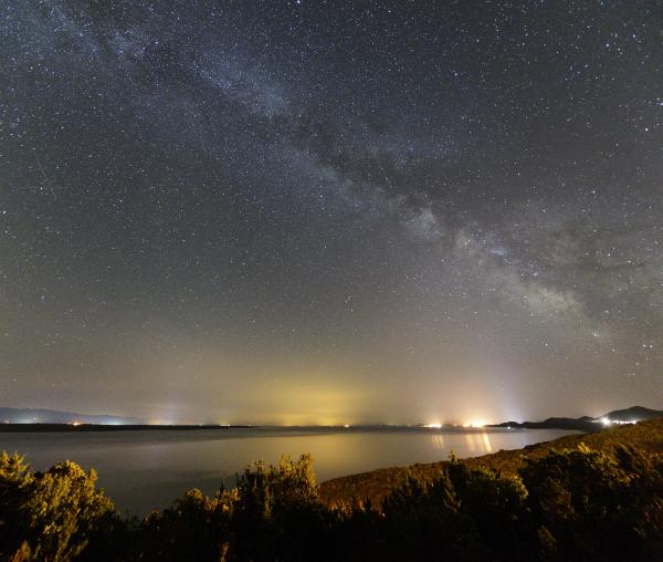 Der unvergessliche Sternenhimmel über der Insel Lošinj