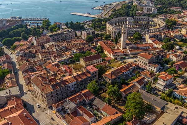 Pula, Istriens historische Hauptstadt & Kulturzentrum