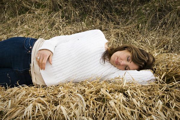 Erholsames Schlafen im Sroh