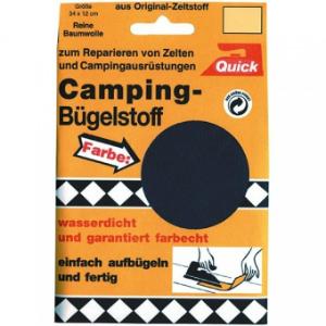 Camping-Buegelstoff