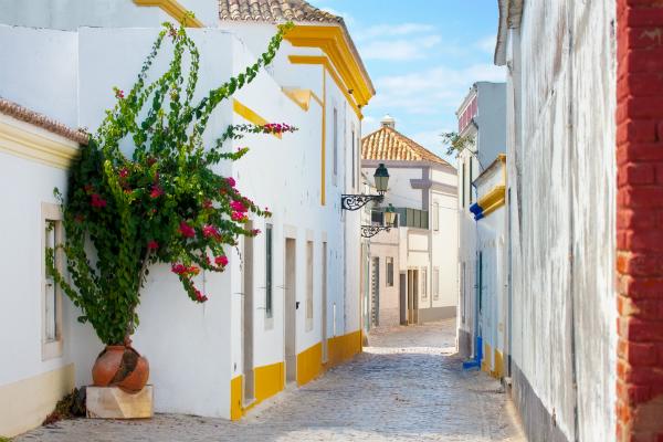 Strasse in Faro