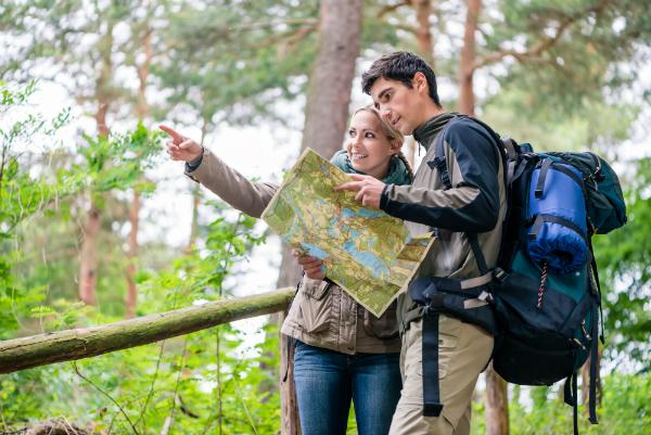 Aktivcamping mit Wandern