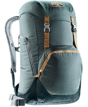 Deuter Walker 24 Rucksack grau schwarz