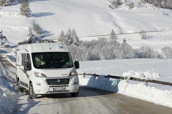 Österreich eignet sich für ausgedehntes Windercamping