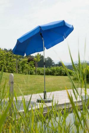Schneider Sonnenschirm Locarno rund blau