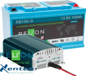 Power Set Relion 100Ah