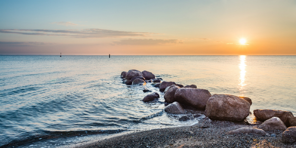 Sonnenaufgang Timmendorfer Strand Ostsee