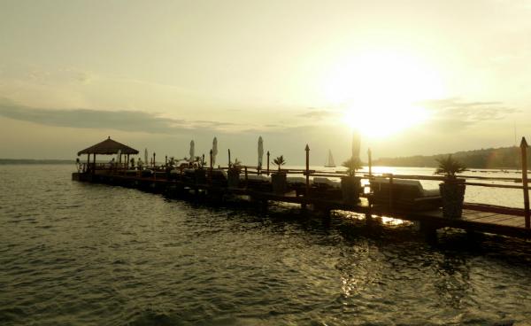 Der Strand bei Lucija