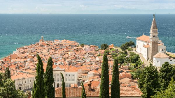 Die wunderschöne Hafenstadt Piran