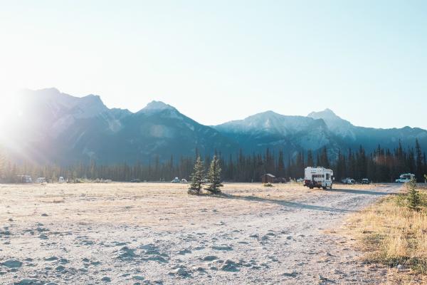 Camping im Winterurlaub