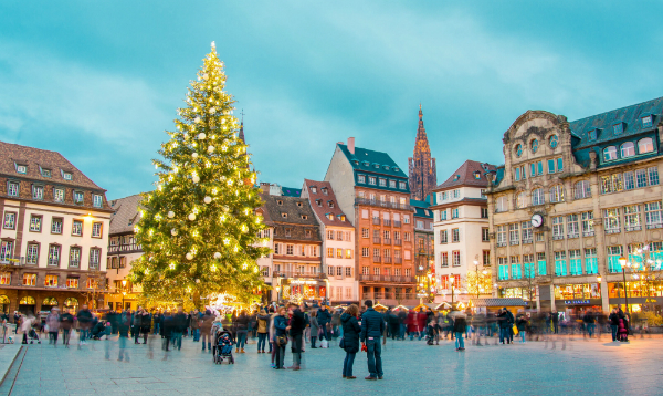 Weihnachtsmarkt in Strassburg