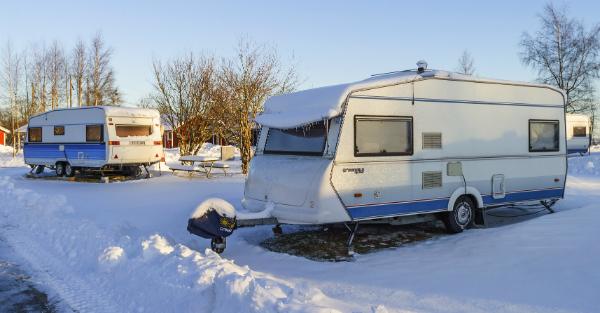 Im Winter bedarf es guter Stützen für sicheren Halt