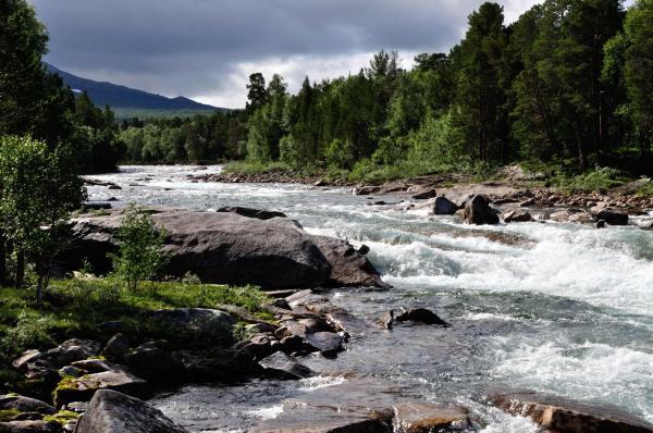 Fluss Luonosjahka