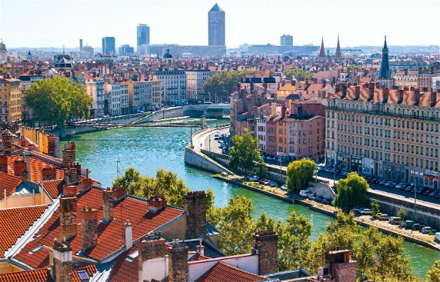 Innenstadt von Lyon