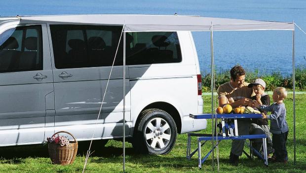 Berger Sonnenvordach für Bus & Wohnwagen