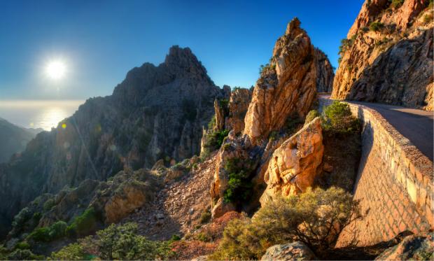 Die wunderschönen Berge Korsikas