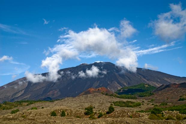 Der immer noch aktive Vulkan Ätna