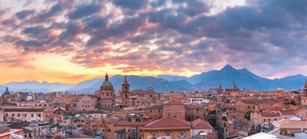 Blick über Palermo