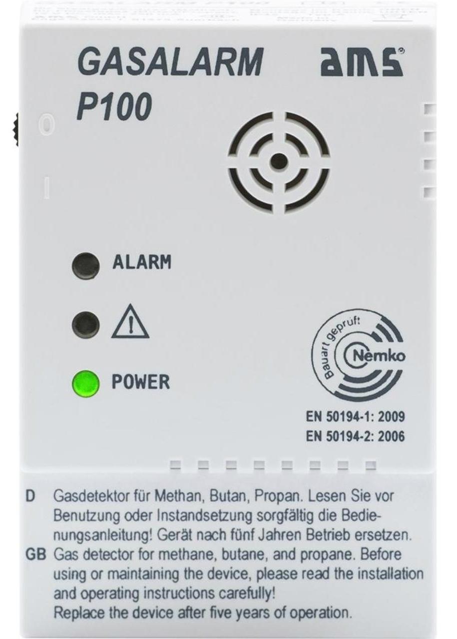 AMS Gasalarm P100
