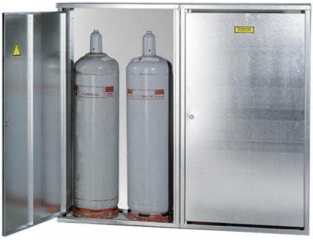 Gasflaschen-Schrank