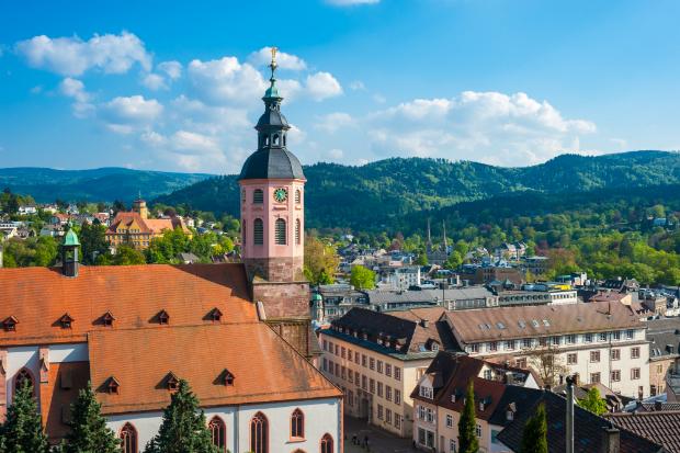 Blick über Baden Baden