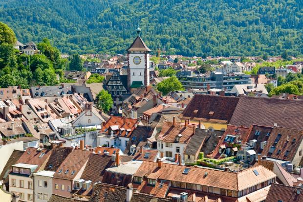 Blick über Freiburg im Breisgau