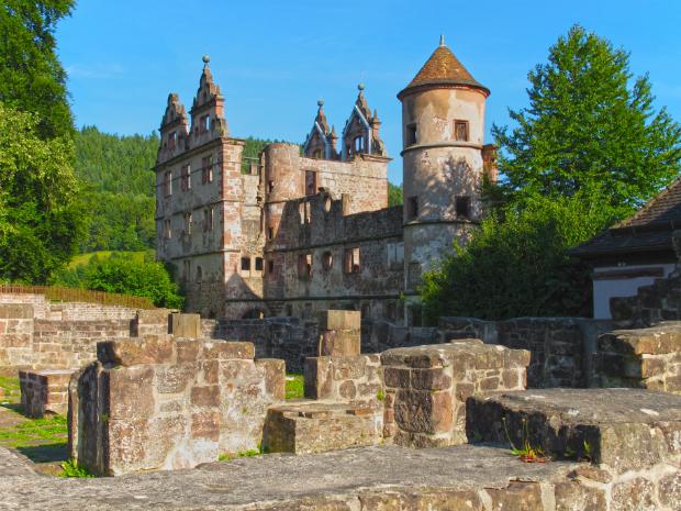 Schloss- und Klosterruine Hirsau bei Calw