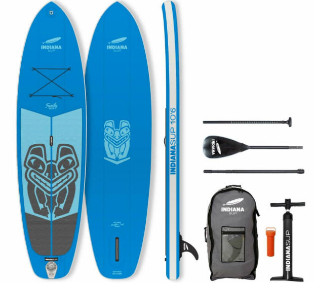 Indiana Stand Up Paddling-Board-Set Family Pack