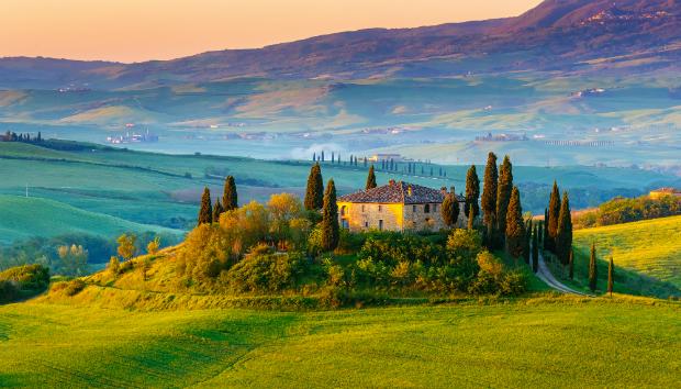 Die schönen Bauernhöfe der Toskana
