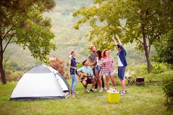 Mobiler Kuehlschrank oder Campingkuehlbox