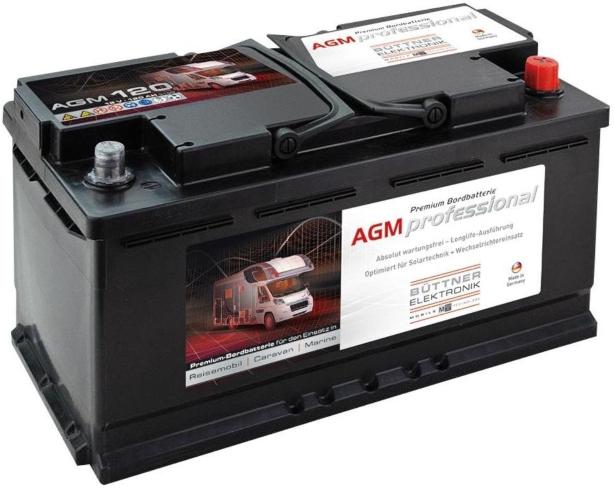 Bordbatterie AGM 120 Ah