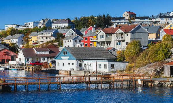 Kristiansund Stadt Norwegen