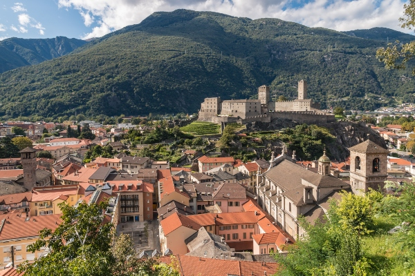 Bellinzona-Schweiz
