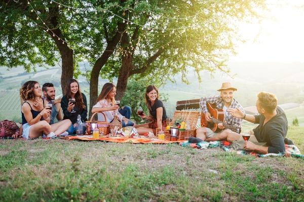 Picknick Ideen fuer Freunde picknick-ideen
