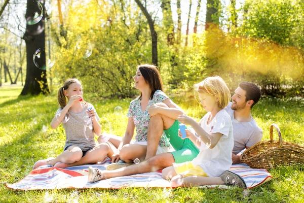 Picknick mit Kindern picknick-ideen