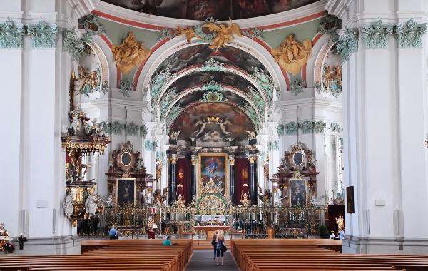 Stiftskirche St. Gallen innen