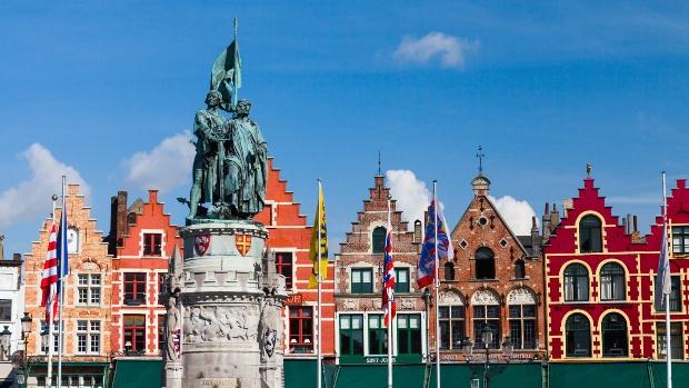 Stadtansicht von Brügge, dem UNESCO Weltkulturerbe