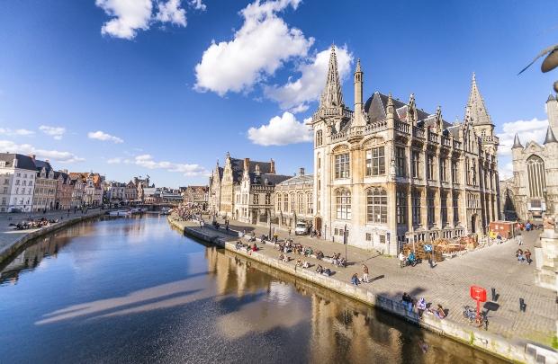 Gent, Stadtansicht