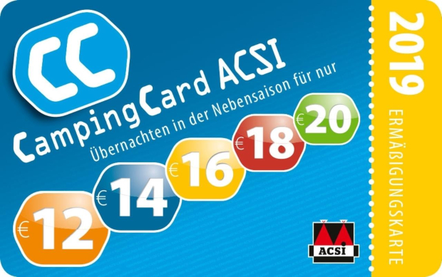 ACSI Campingführer CampingCard 2019