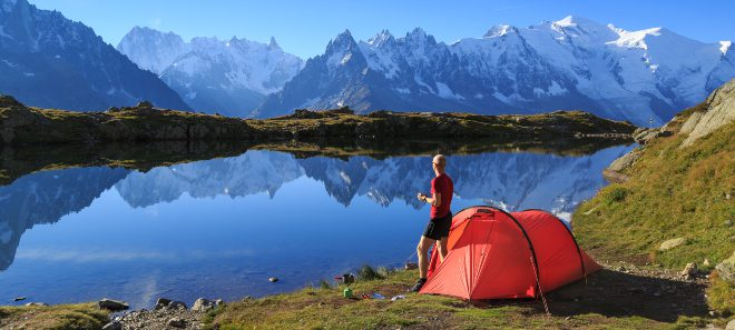 Campen am See in den ALpen