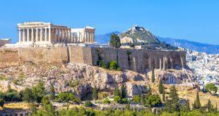 Die Akropolis - Camping von Chalkidiki bis Peloponnes